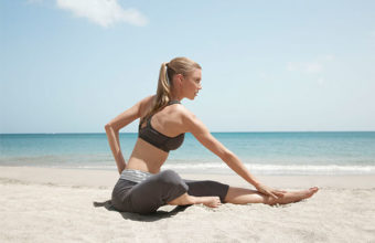 Pilates course at rendezvous resort