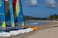 Sailing in St Lucia