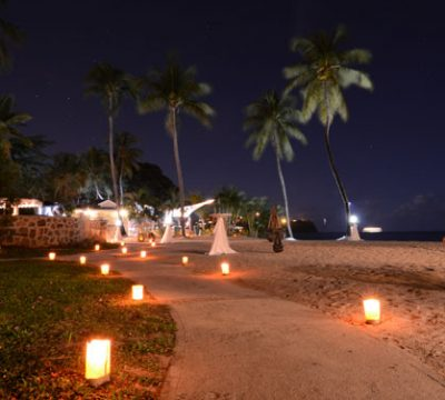 An Evening at St Lucia Beach