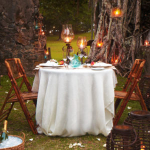 Elope Dining: Destination Wedding in St Lucia