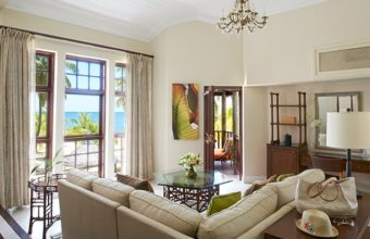 Luxury Beach Front Suite Living Room