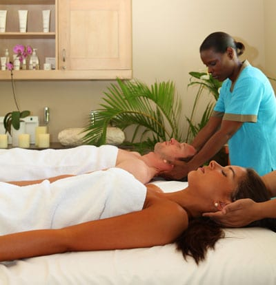 Couples Massage at The Spa in the Water Garden