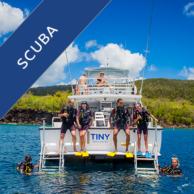 Scuba Diving in St Lucia